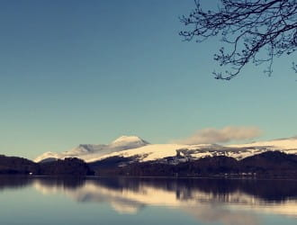 The Joys of the Winter Season by Loch Lomond